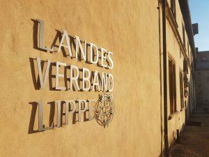 Verwaltung des Landesverbandes Lippe im Schloss Brake am 24. September 2019 geschlossen