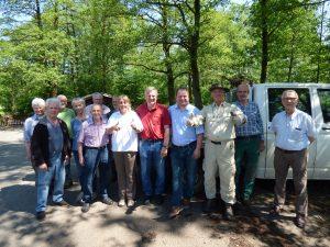 Gemeinsamer Einsatz im Moorstich Stinkebrink in Bad Meinberg