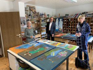 Offene Ateliers 2020 in Lippe erfolgreich durchgeführt