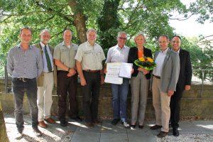 Forstwirt Ralf Penke feiert 40jähriges Dienstjubiläum