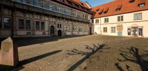Verwaltung des Landesverbandes Lippe im Schloss Brake am 26. September 2017 geschlossen