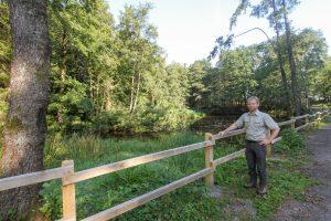 Landesverband Lippe schafft im Extertal Lebensraum für Amphibien