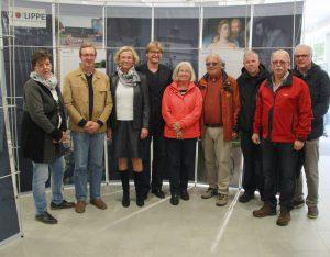 """Wanderausstellung """"70 Jahre Lippe in Nordrhein-Westfalen"""" des Landesverbandes Lippe im WALK am Hermannsdenkmal eröffnet"""