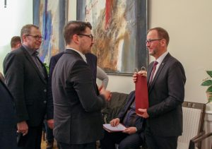 Hans-Jörg Düning-Gast zum neuen Verbandsvorsteher des Landesverbandes Lippe gewählt