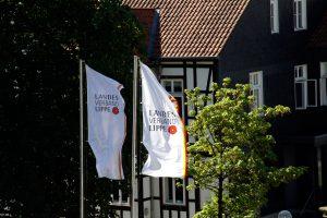 Verwaltung des Landesverbandes Lippe im Schloss Brake am 25. September 2018 geschlossen